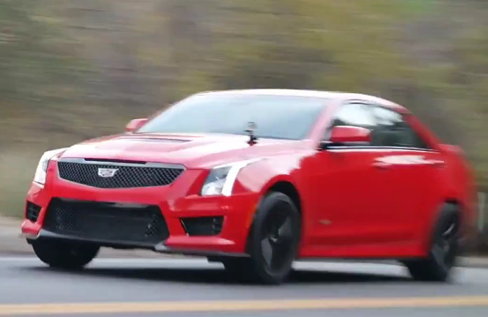 Exclusive 2017 Cadillac Ats V Review Wheels Ca