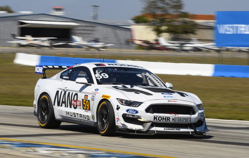 New Ford Mustang Gt4 Claims First Win In Only Second Race Wheels Ca