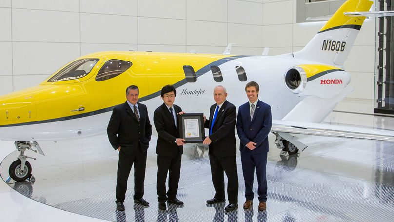 HondaJet Canadian Certification