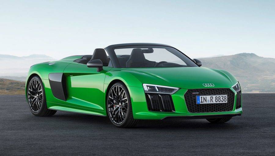 Audi R8 Spyder V10 Plus Pumps Out 610 Hp And Will Go 328 Kmh