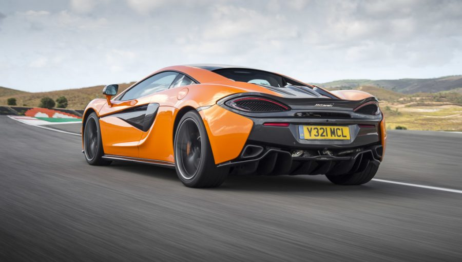 mclaren 570s coupe first model in new sports series wheels ca