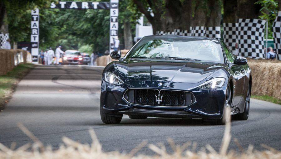 2018 Maserati Granturismo And Grancabrio Star At Goodwood Festival