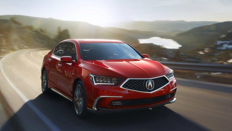 Acura RLX Debuts