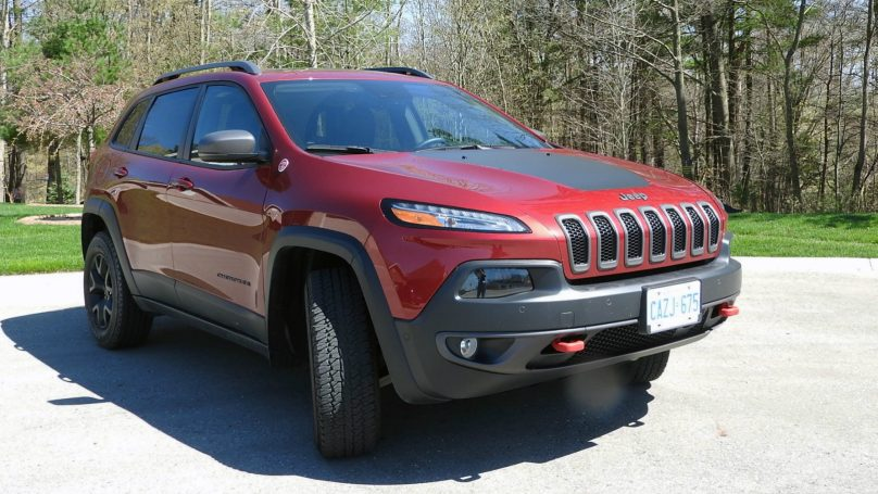 Jeep Cherokee TrailhawkReview