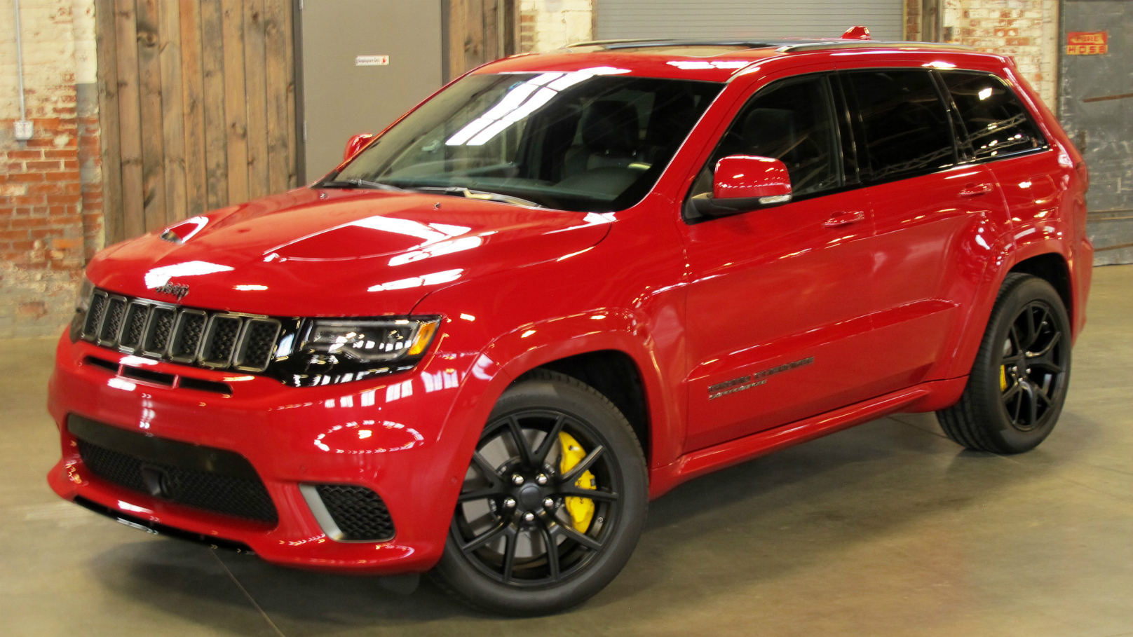 Jeep Unleashes Fastest Most Powerful Suv Ever Wheels Ca
