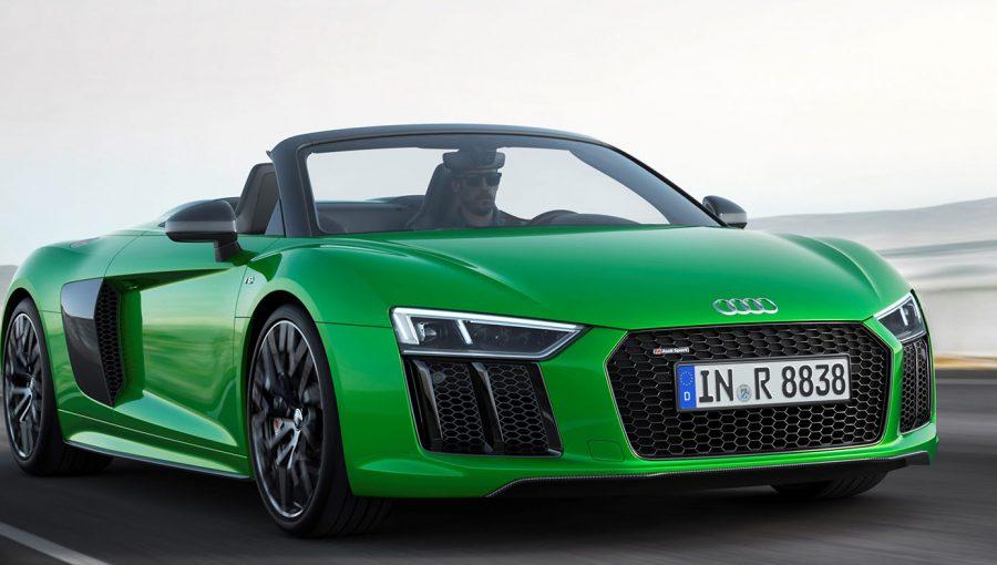 US Debut Of Audi R V Plus Spyder At Monterey Car Week WHEELSca - Monterey audi
