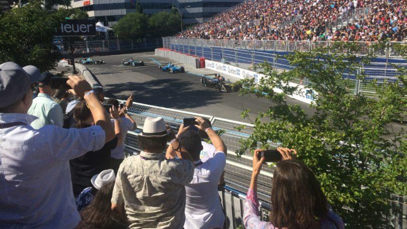 electric car racing