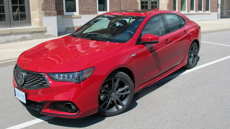 2018 Acura TLX A-Spec Elite