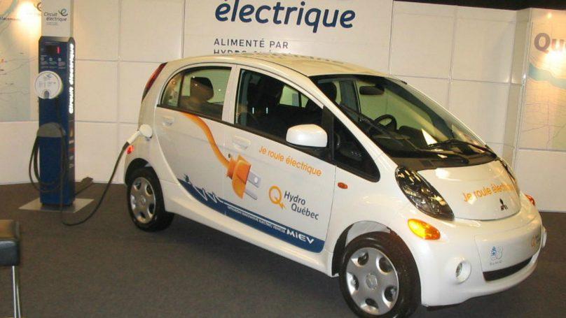 i-MiEV electric cars