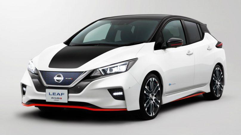 Nissan Shows Leaf Nismo Concept At Tokyo