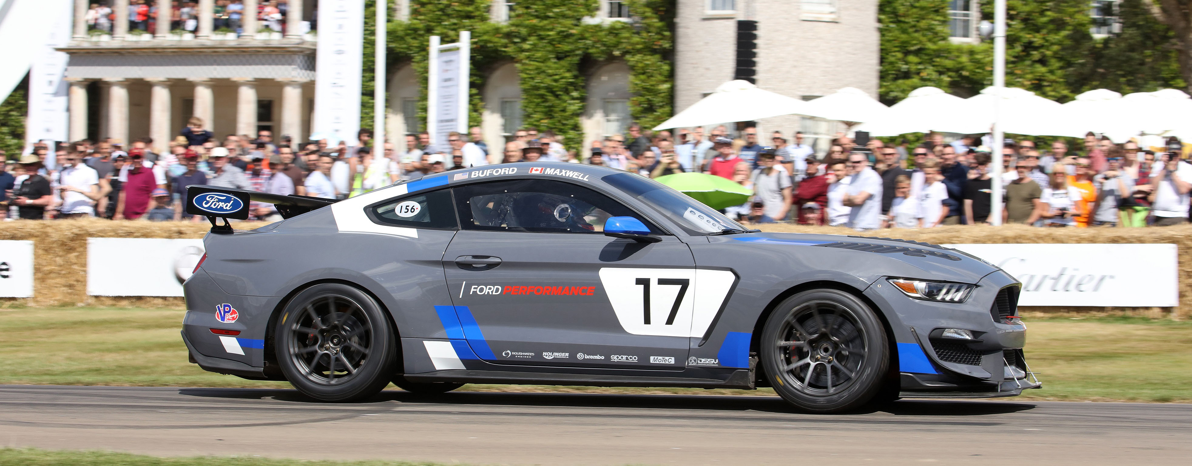 Ford mustang gt4 makes european racing debut with canadian scott