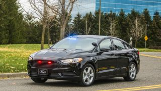hybrid police vehicle