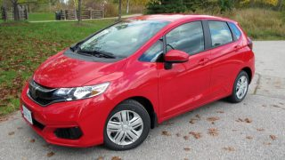 2018 Honda Fit LX review