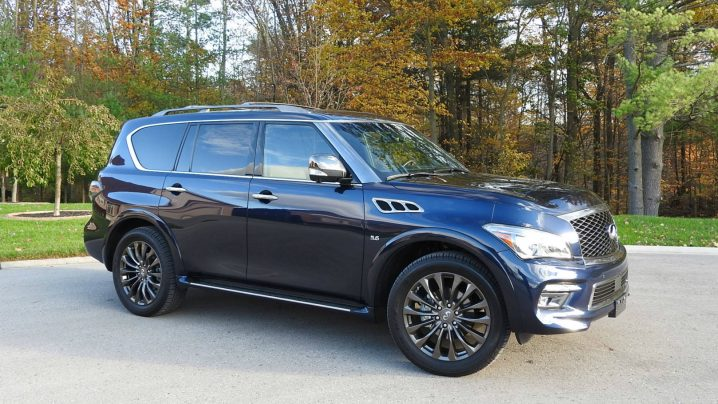 2017 Infiniti QX80 Limited review