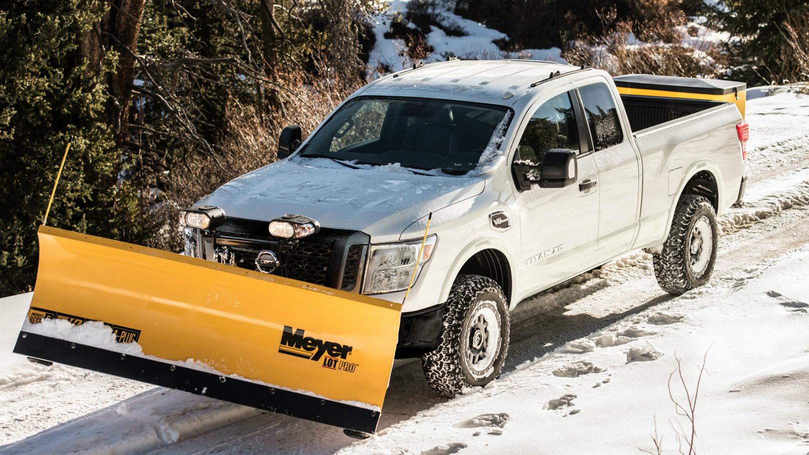 Titan XD Snow Plow
