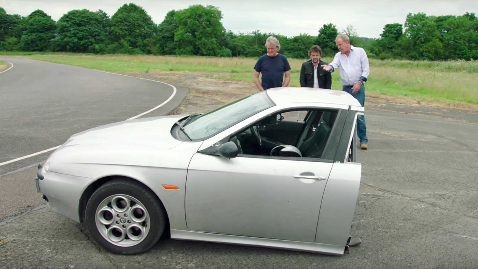 Celebrity Brain Crash Top Gear