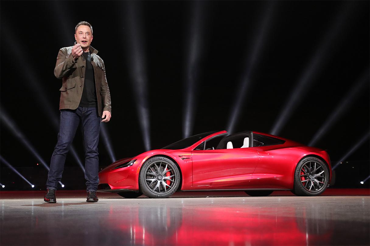 TrackWorthy - Elon Musk and the Tesla Roadster