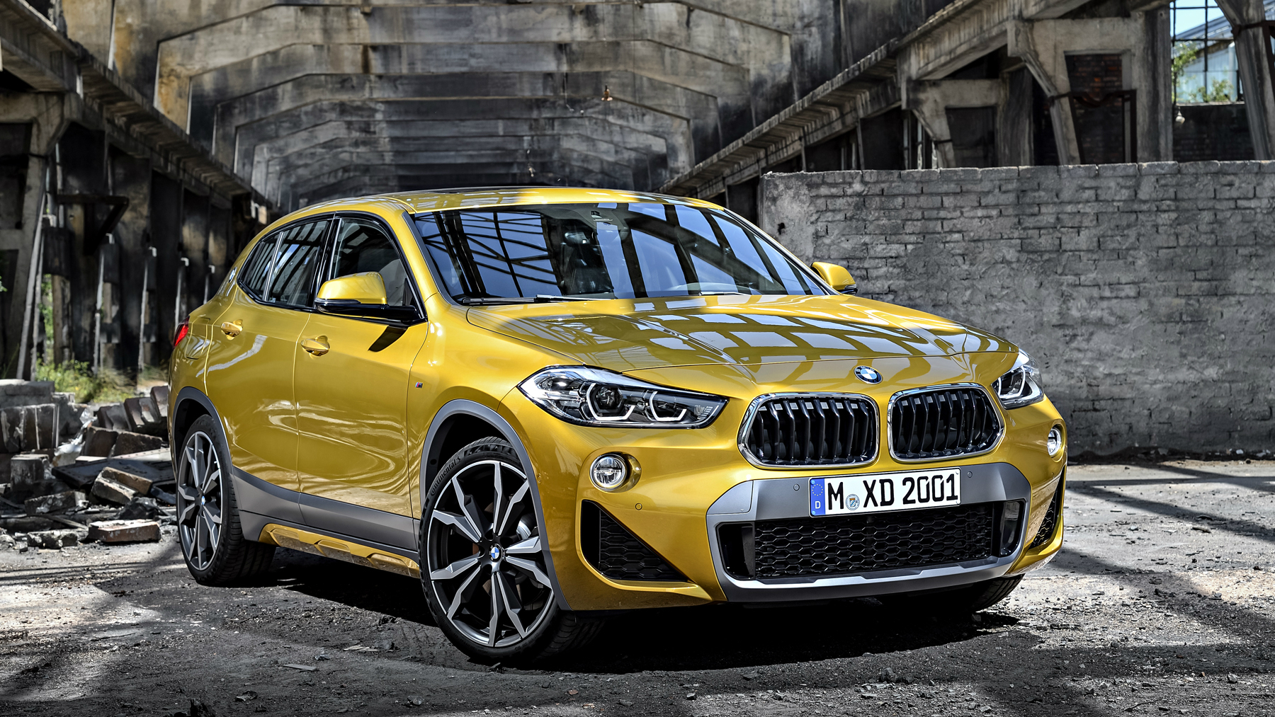 BMW X2 heads BMW lineup