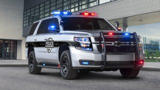 Police Pursuit Vehicle