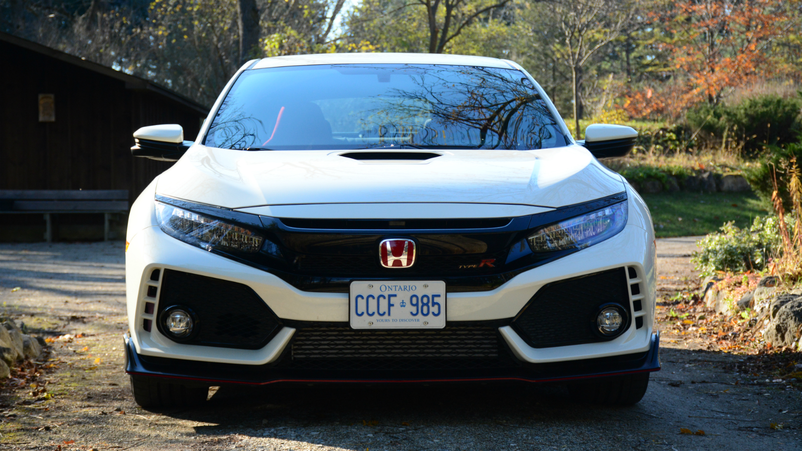 Driving the Honda Civic Type R