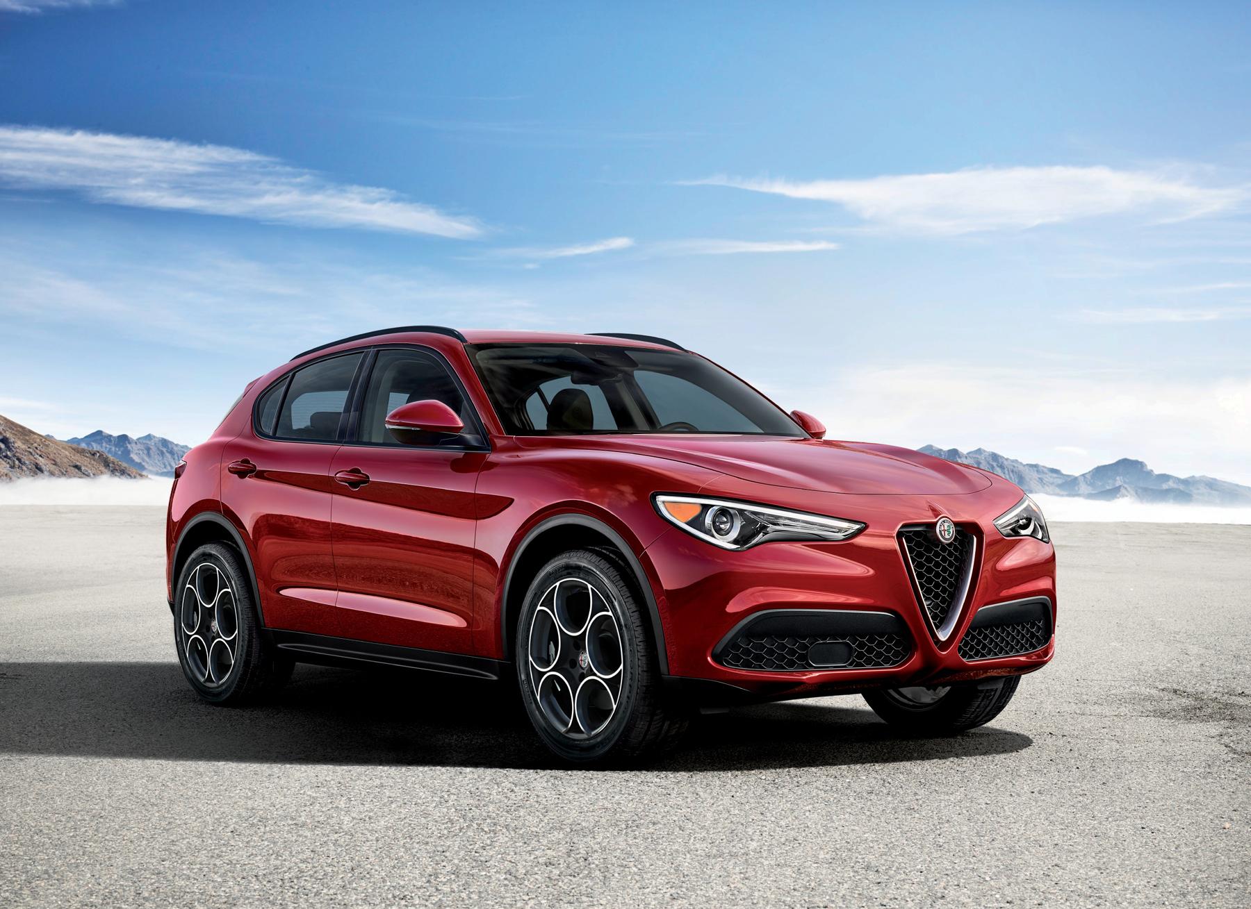 Stelvio Enters The Premium Suv Segment Italian Style Wheels Ca