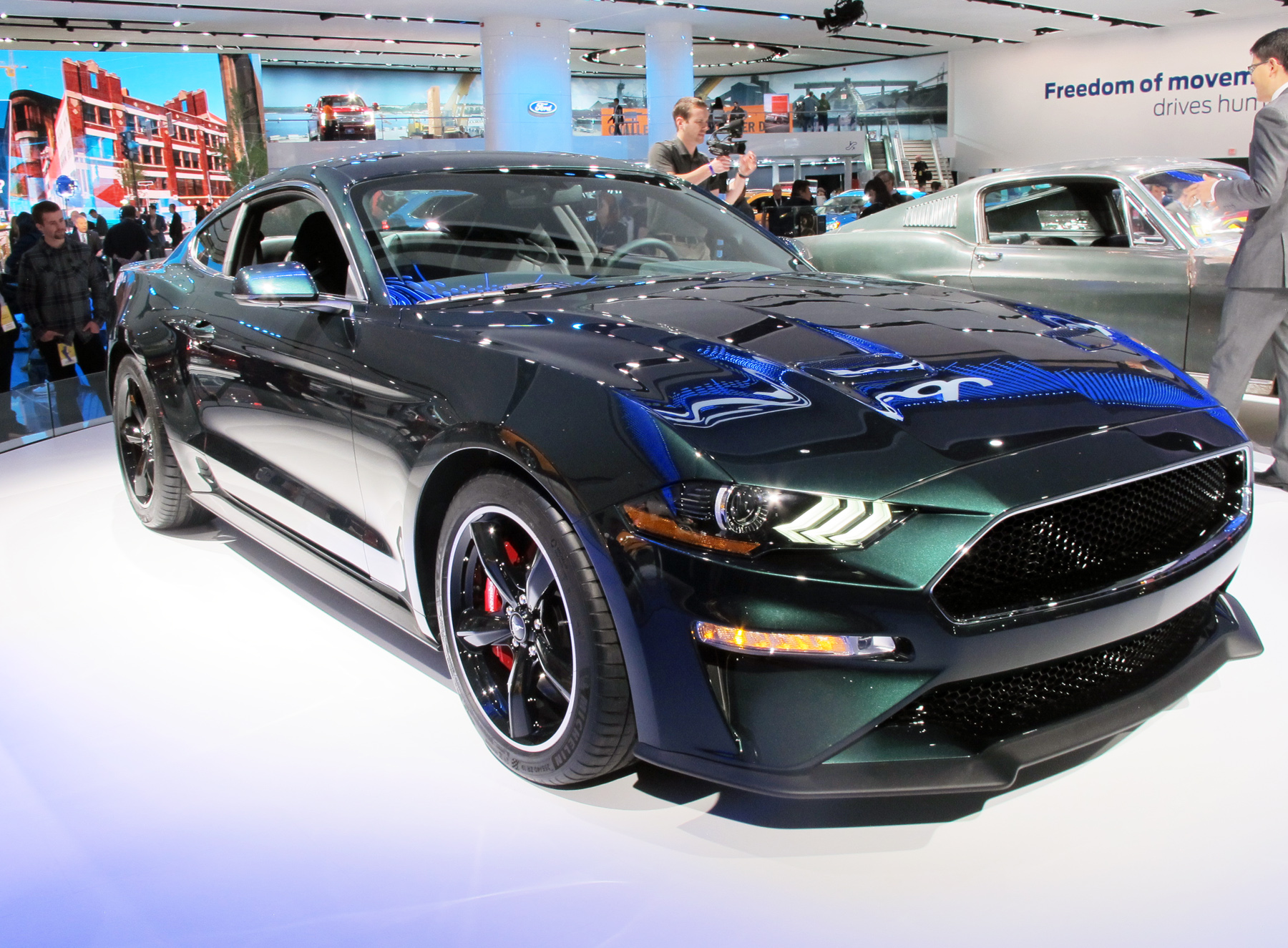 Mustang Comes To Detroit With A Bullitt Wheels Ca