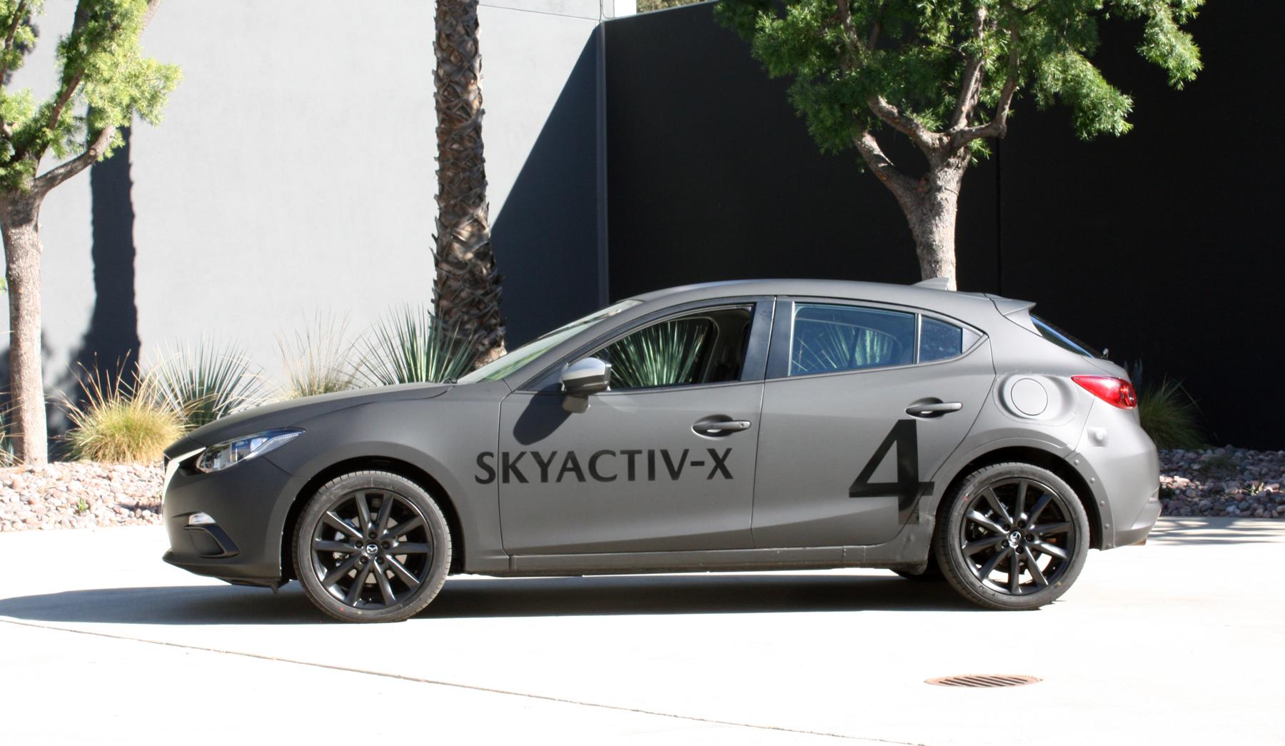 Skyactiv–X Engine