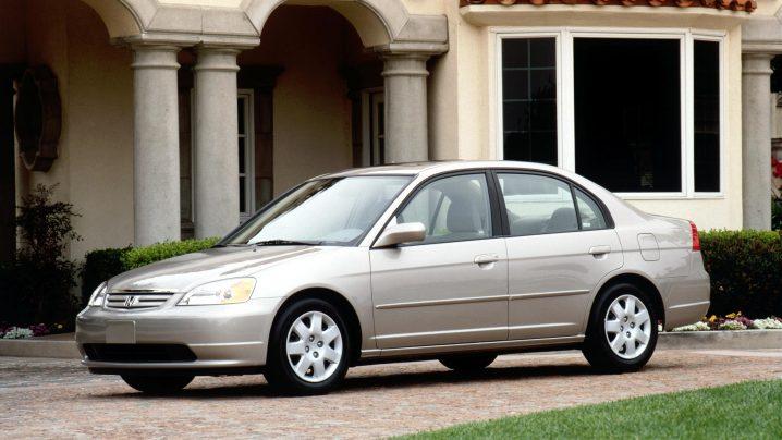 2002 Honda Civic EX Sedan.