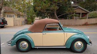 1949 drophead Volkswagen coupe