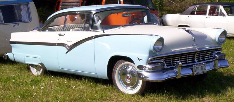 1956 Ford Fairlane Kenny Rogers