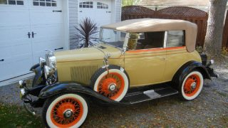 1931 Chevrolet Deluxe Landau Phaeton