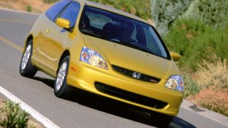 2003 Honda Civic SiR hatchback