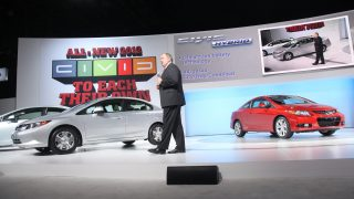 2011 Honda Civic New York International Auto Show