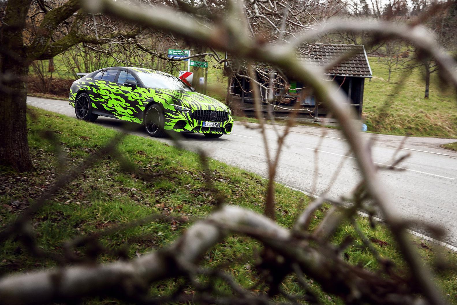 TrackWorthy - Mercedes-AMG GT 4-Door Coupe (2)