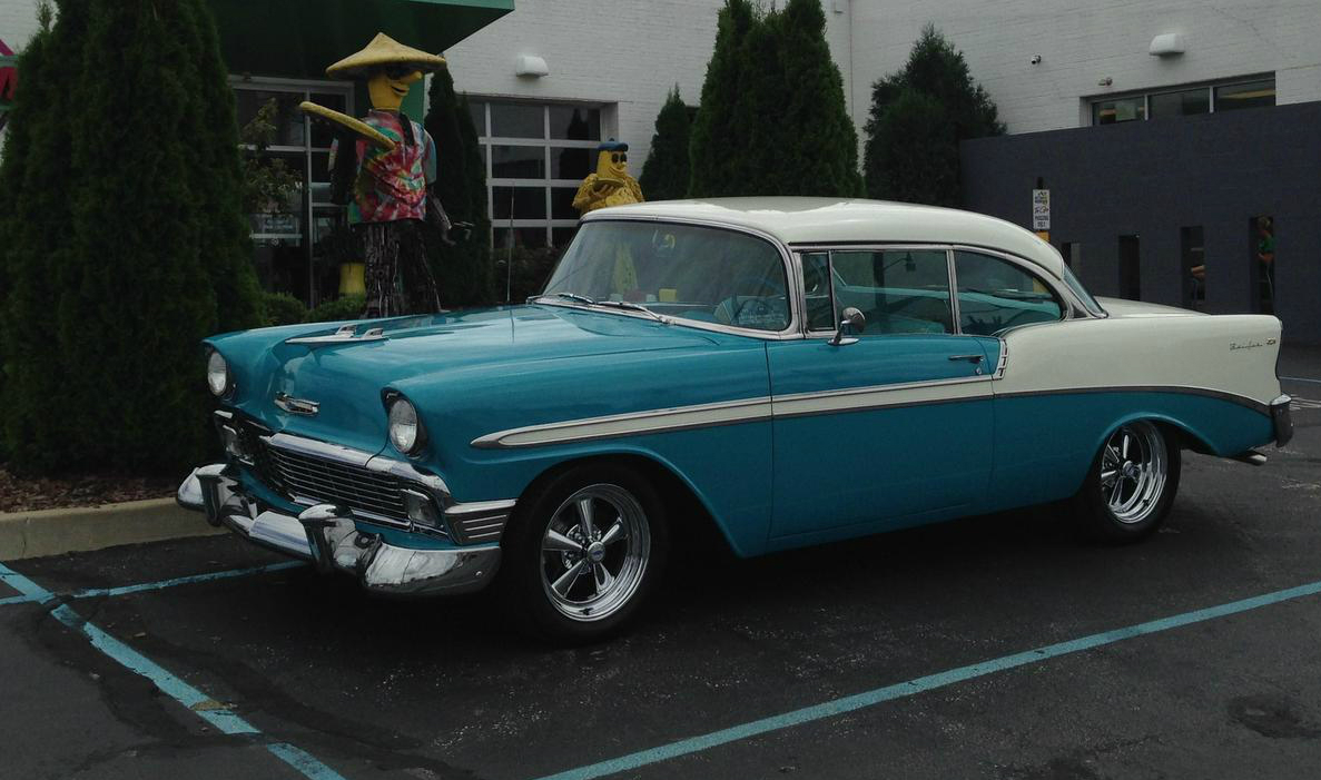 Eye Candy: 1956 Chevrolet Bel Air