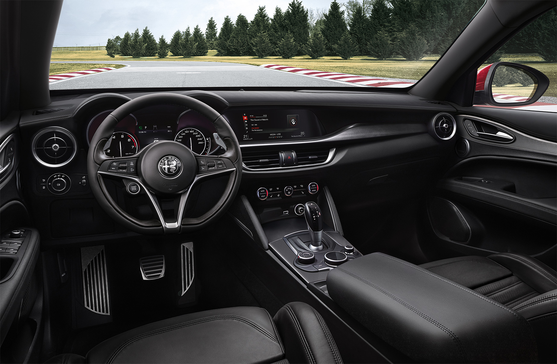 TrackWorthy - Alfa Romeo Stelvio 05 DASHBOARD Sport 18