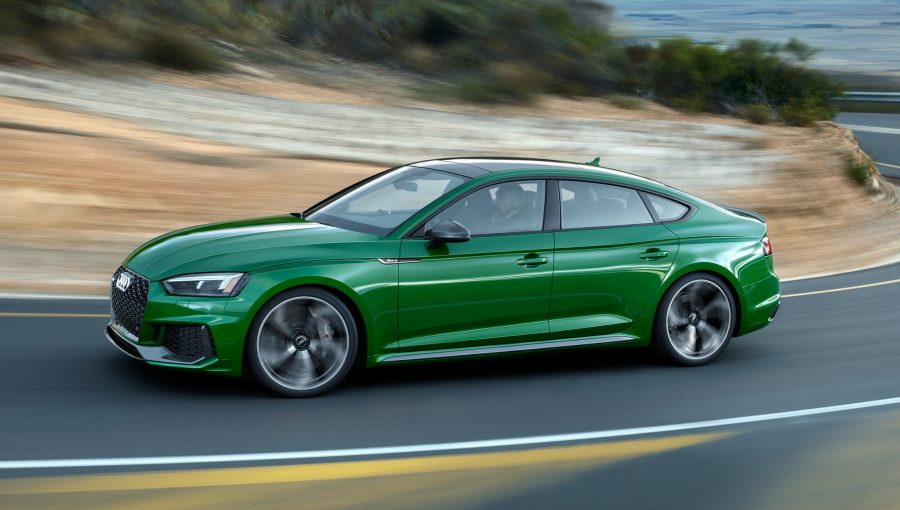 Audi adds to 'coupe' confusion with 2019 RS 5 Sportback sedan