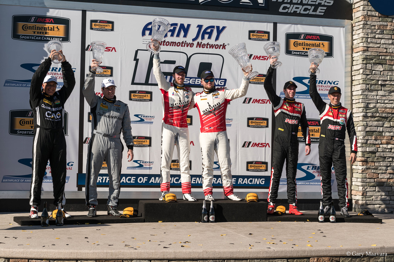 TrackWorthy - Continental Tire SportsCarChallenge podium