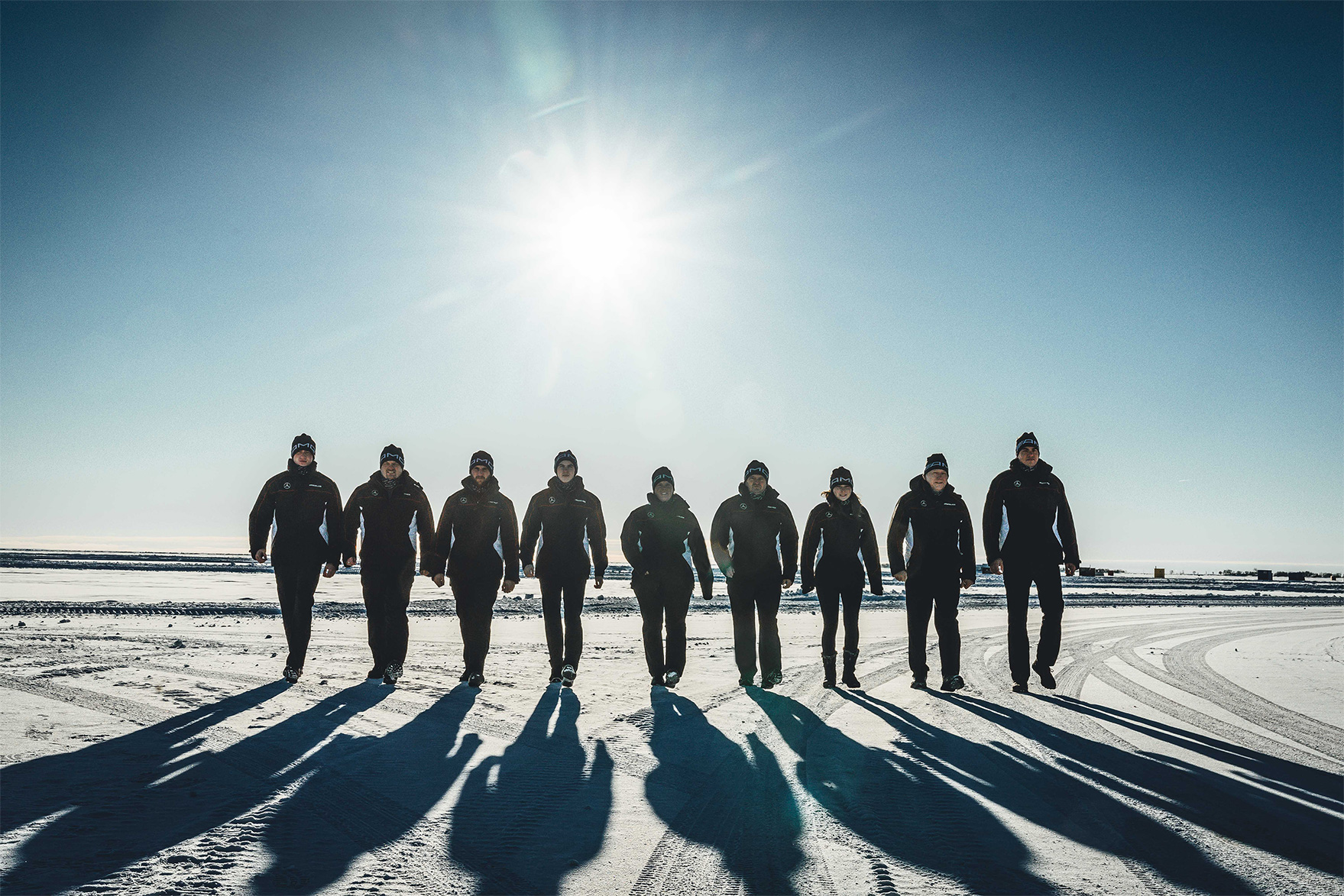 TrackWorthy - MB_AMGWintersporting Sunrise Team Photo 2