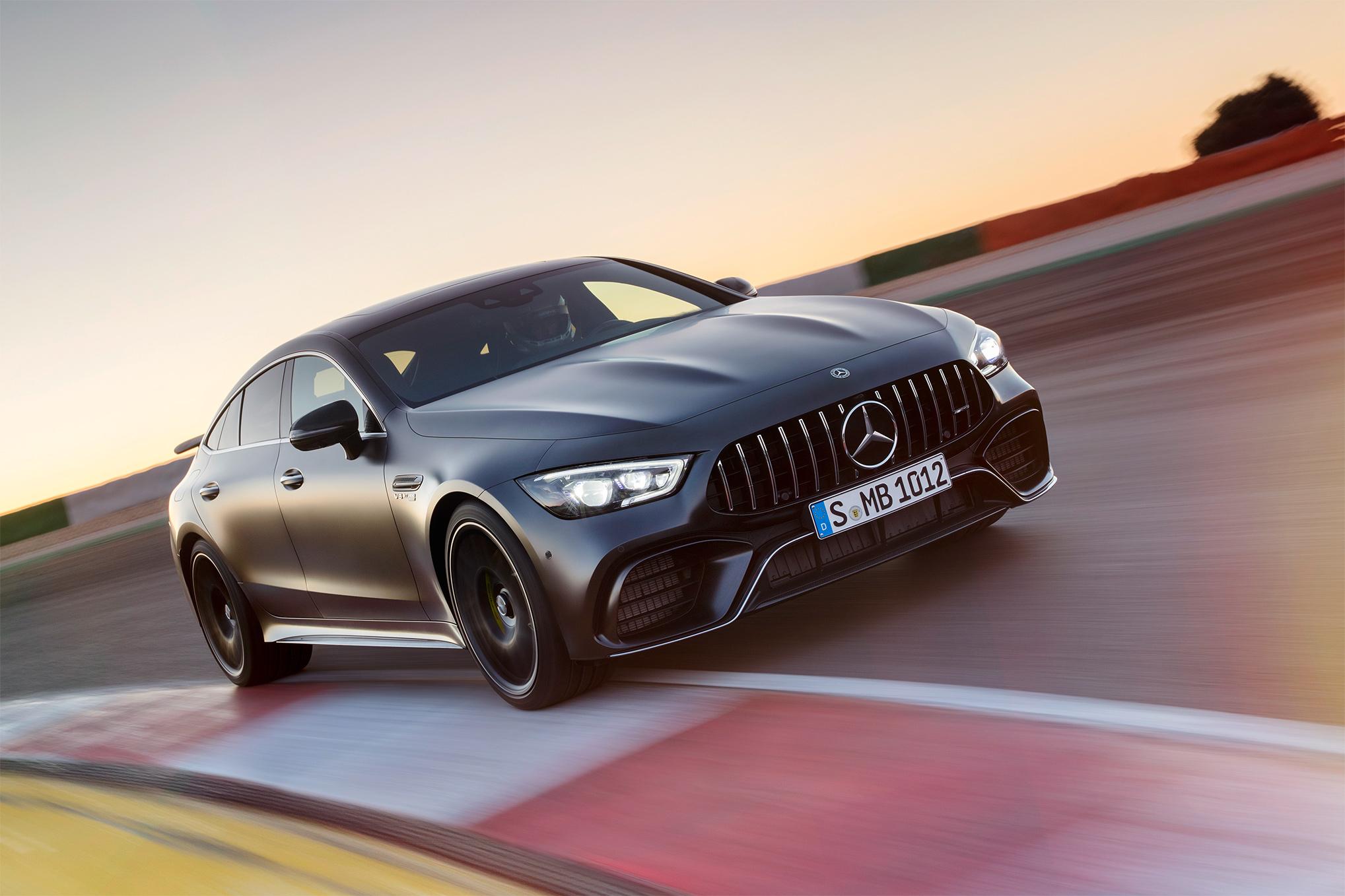 TrackWorthy - Mercedes-AMG GT 4-Door Coupe