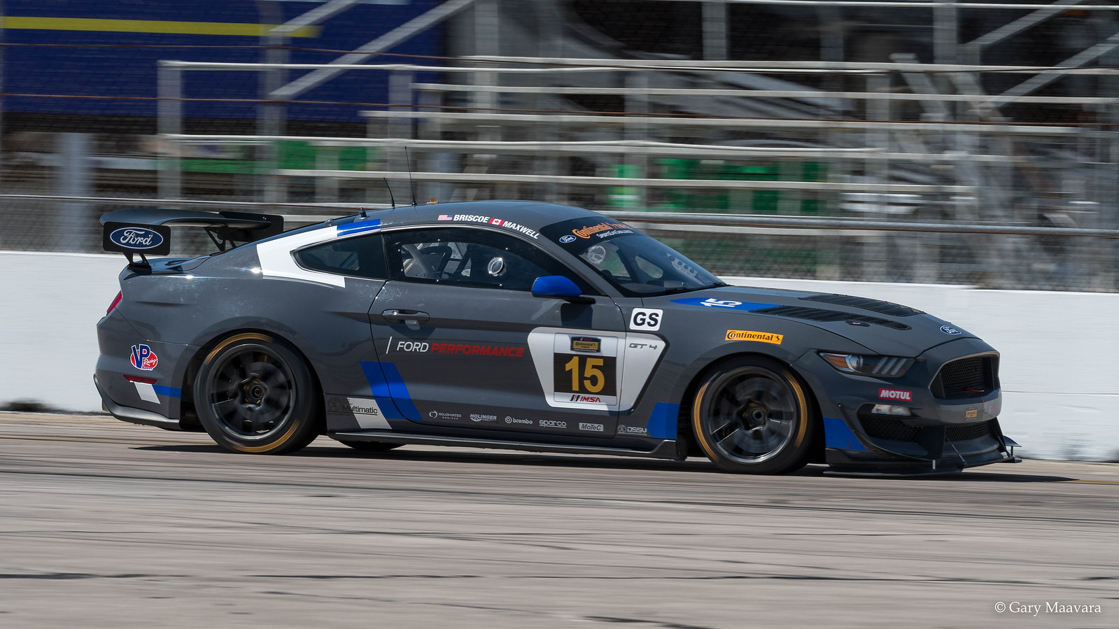 TrackWorthy - No. 15 Ford Mustang GT4 GS