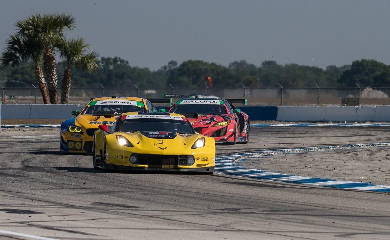 TrackWorthy - Weathertech Race Turn 16 No. 3 Corvette others