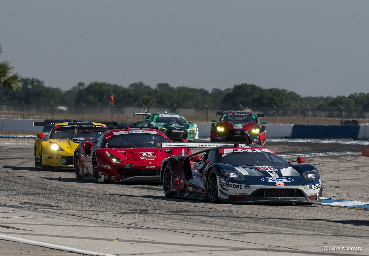 TrackWorthy - Weathertech Race Turn 16 No. 66 Ford GT others
