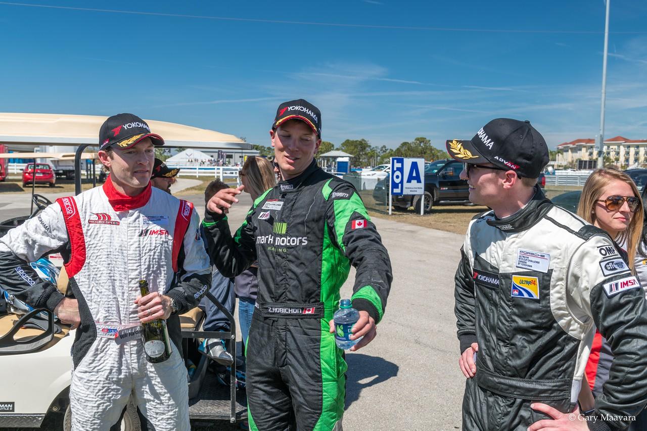 Will Hardeman, Zach Robichon and Nelson Mason