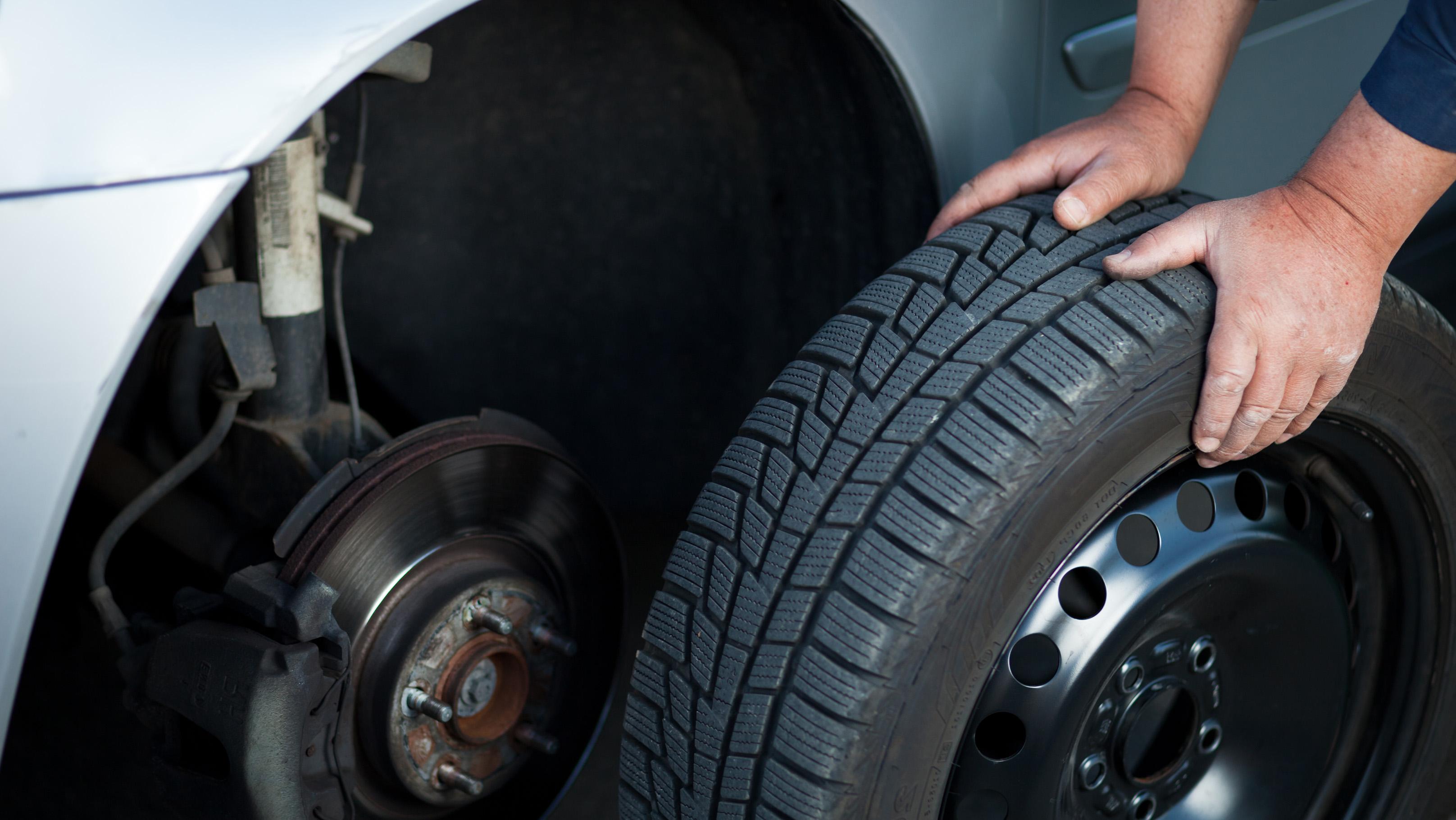 winter tire changeover