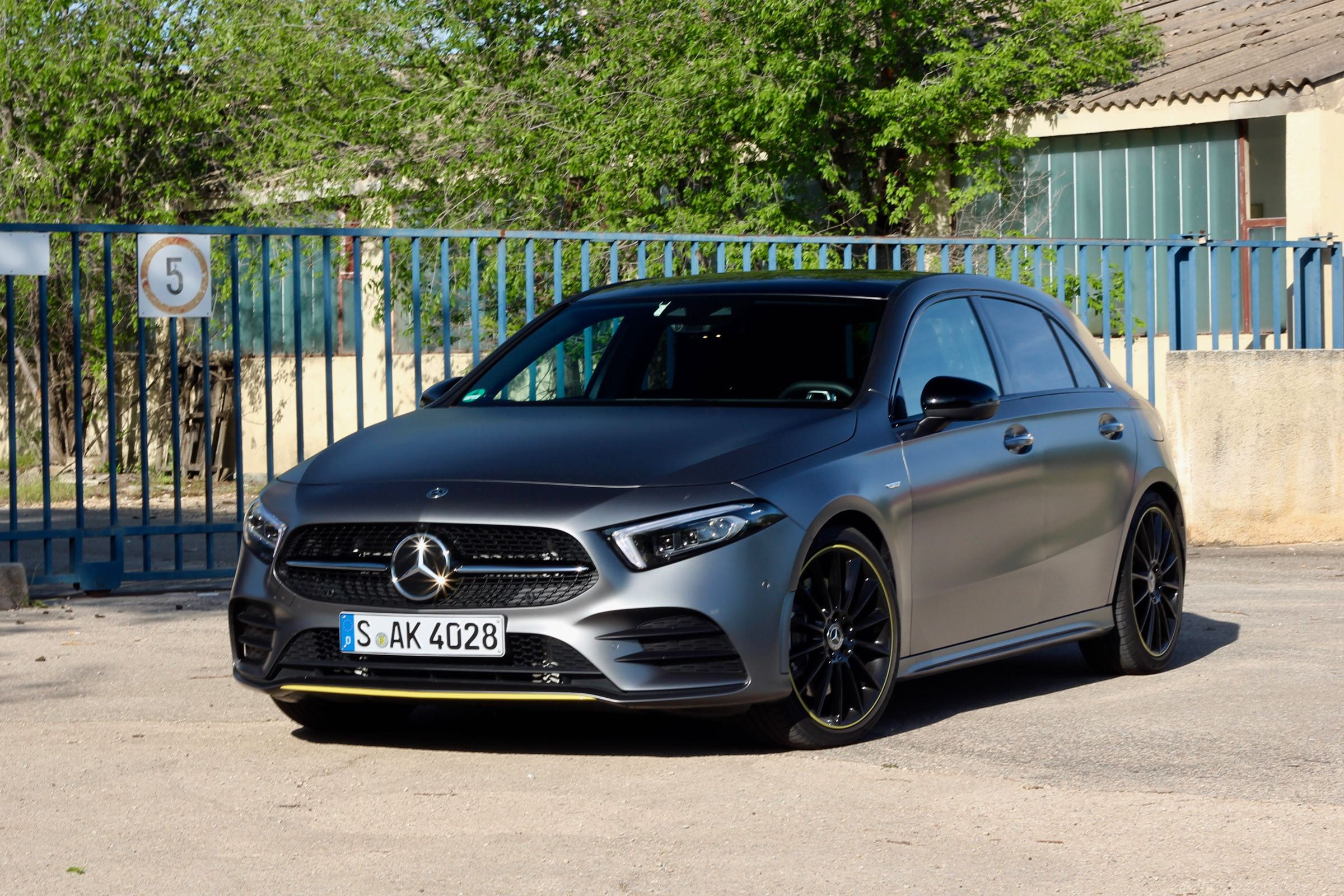 First Drive 2019 Mercedes Benz A Class Wheels Ca