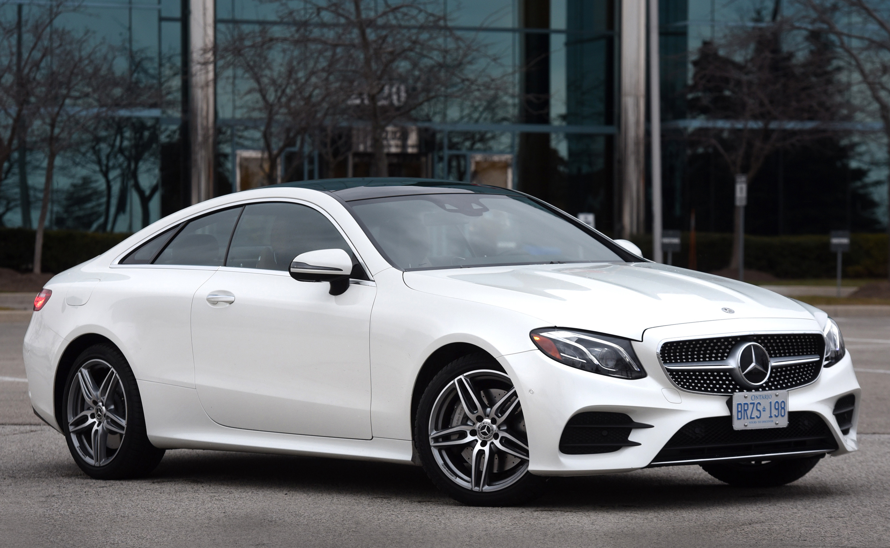 An Elegant E Class Coupe For 2018 Wheels Ca