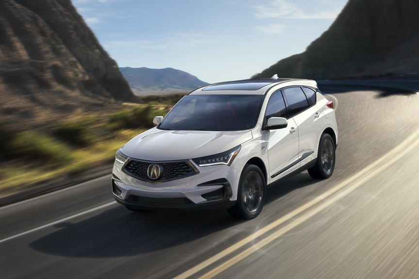Acura RDX Makes Its Canadian Debut At Vancouver Auto Show - 2018 acura rdx rims