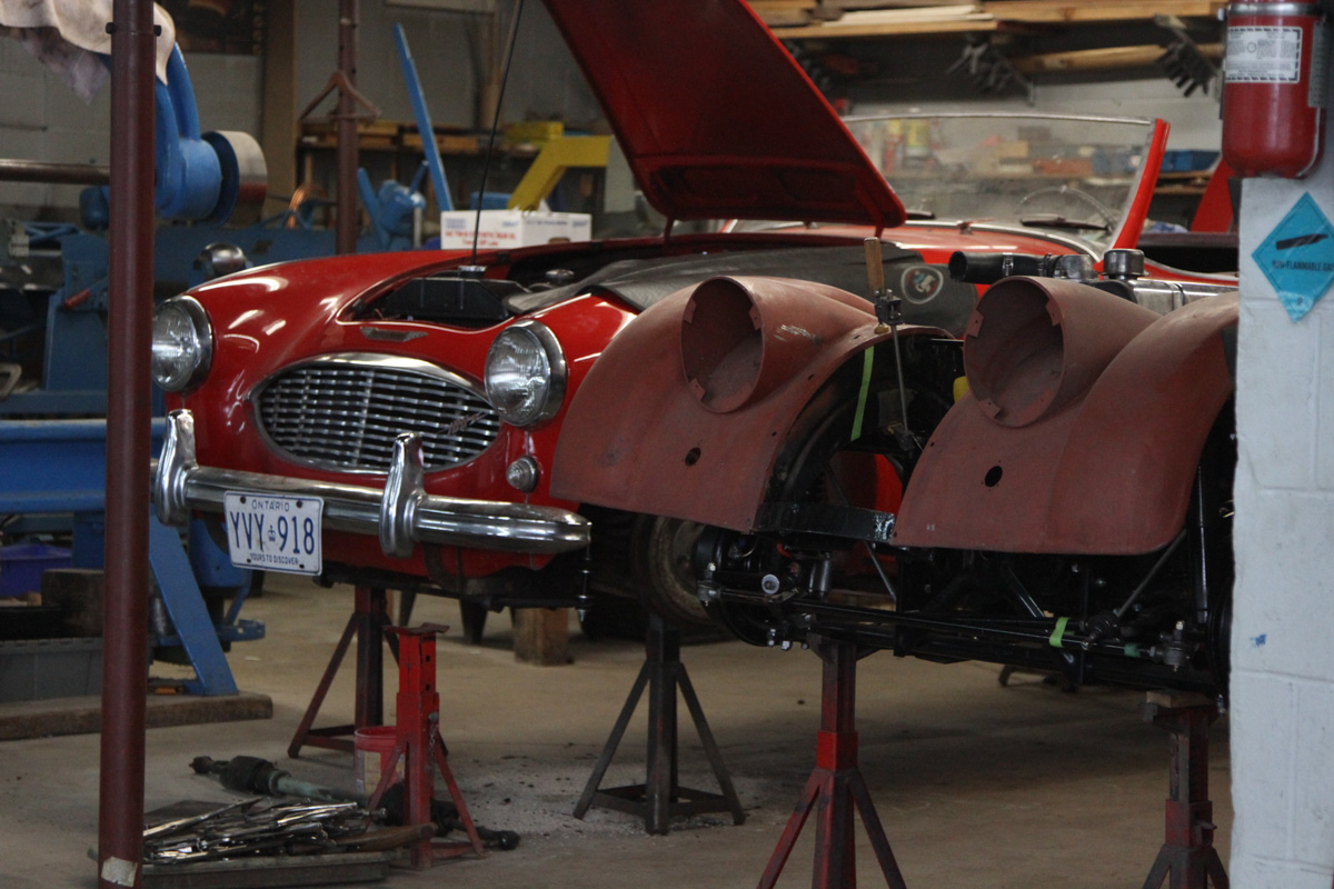 Old World Craftsmanship Keeps Historic Vehicles Alive in this ...