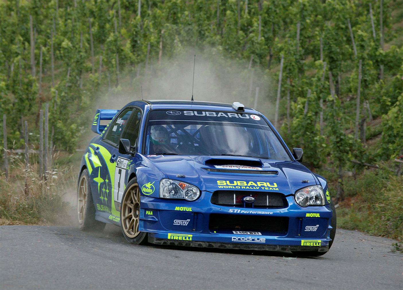 TrackWorthy - 2003 WRC